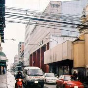 Edificio Capitol, right; modern Cine Capitol is in its top floor. (photo: Dwight Wayne Coop)