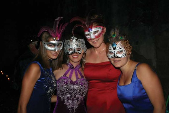 Antigua Masquerade Ball on March 8