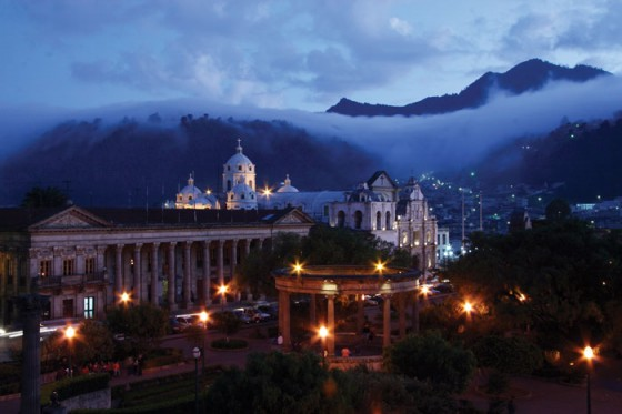 Quetzaltenango central park by Harry Daz