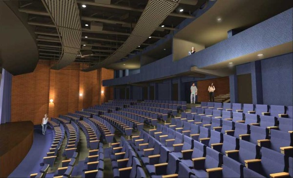 The remodeled IGA auditorium by Arq. Adolfo Lau (courtesy of IGA)